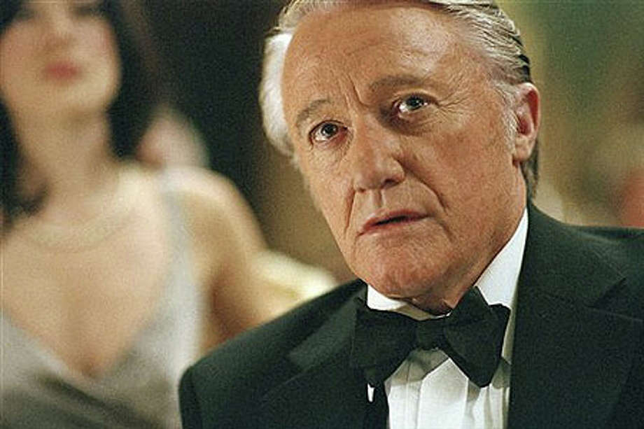 Robert Vaughn will appear at The Ridgefield Playhouse. Photo: Contributed Photo / The News-Times Contributed
