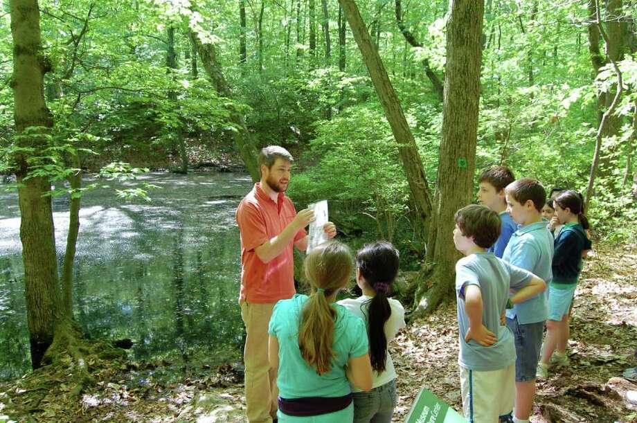 The Stamford Museum and Nature Center is encouraging families to lace up those hiking shoes and get on over to the miles of trails during its Take-A-Hike Week, April 18-22. There are guided tours from the center's naturalists and educators, April 19 -21. For more information, visit www.stamfordmuseum.org Photo: Contributed Photo / Stamford Advocate Contributed