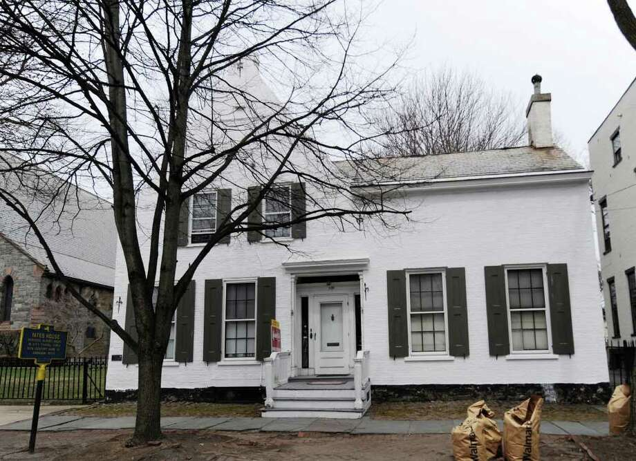The historic Yates House in Schenectady, N.Y.  April 12, 2011.    (Skip Dickstein / Times Union) Photo: Skip Dickstein / 2008