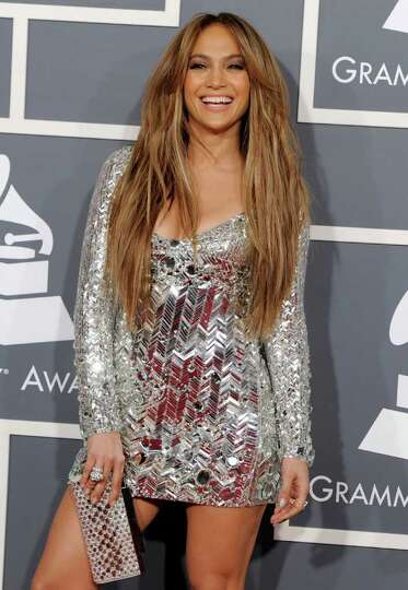 FILE - In a Feb. 13, 2011 file photo, Jennifer Lopez arrives at the 53rd annual Grammy Awards, in Lo