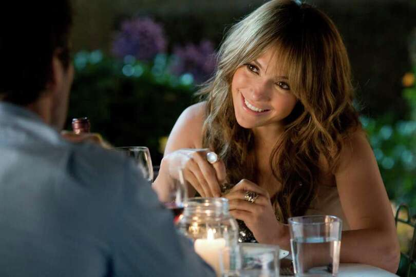 In this film publicity image released by CBS Films, Jennifer Lopez is shown in a scene from,