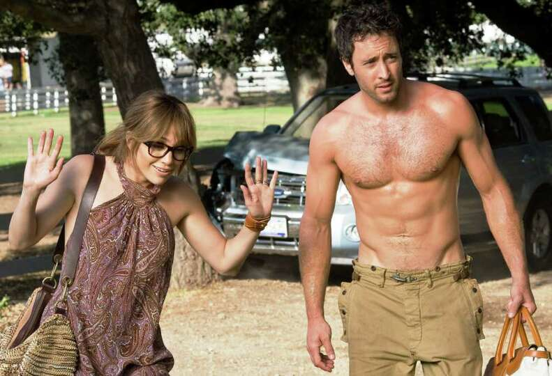 Zoe (JENNIFER LOPEZ) follows Stan (ALEX O'LOUGHLIN) to his country house.