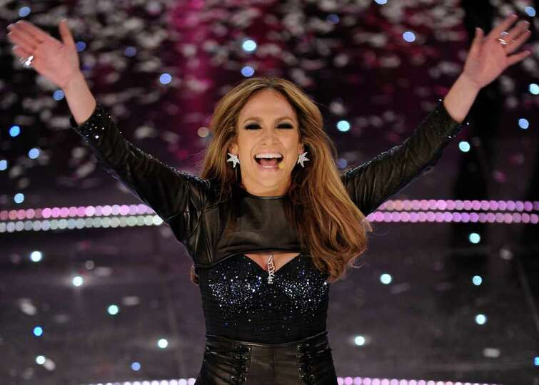 Jennifer Lopez performs during the