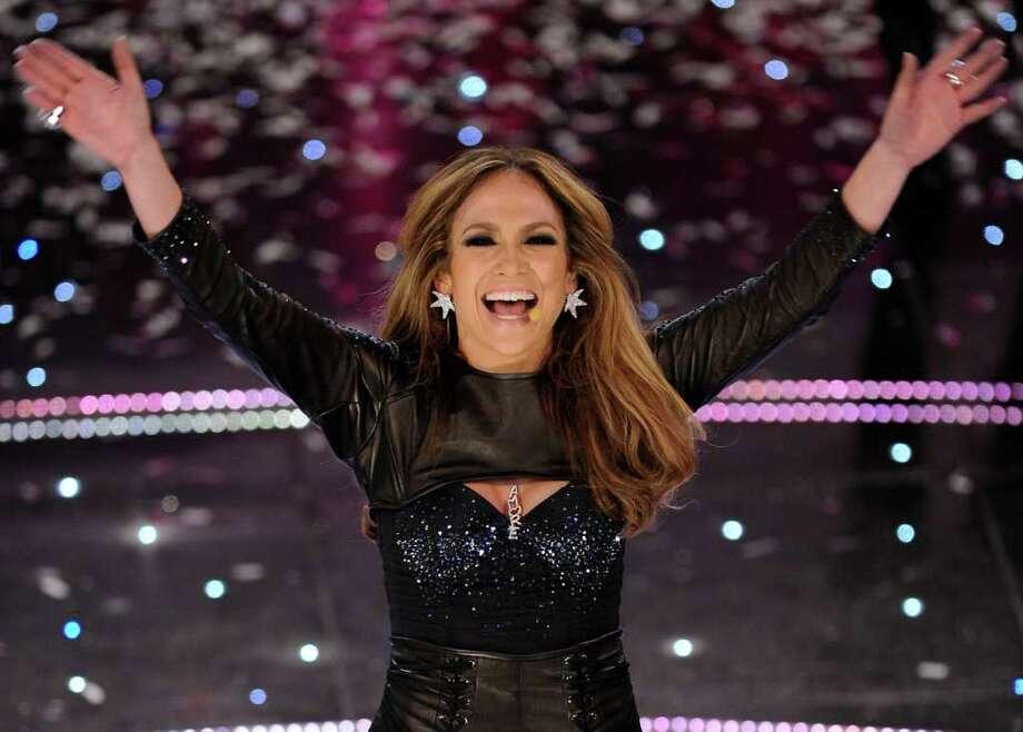 "Jennifer Lopez performs during the ""Festival di Sanremo"" Italian song contest at the Ariston theater in San Remo, Italy, Friday, Feb. 19, 2010. Photo: ALBERTO PELLASCHIAR, AP / AP"