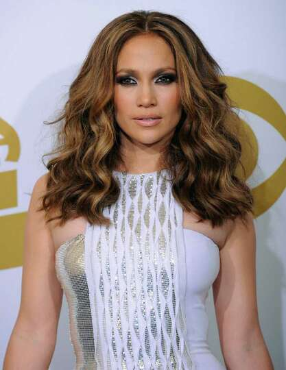 Jennifer Lopez is photographed backstage at the Grammy Awards on Sunday, Jan. 31, 2010, in Los Angel