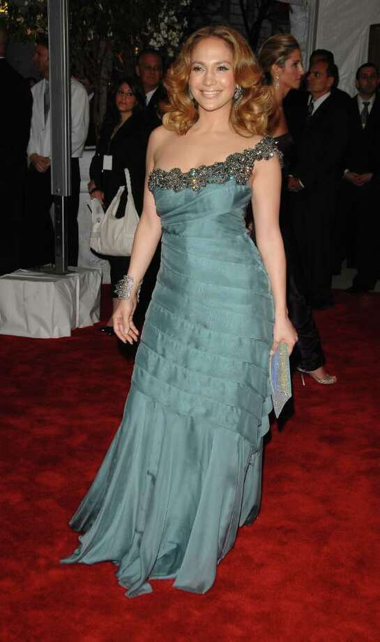 Actress Jennifer Lopez arrives at the Metropolitan Museum of Art's Costume Institute Gala in New York, on Monday, May 5, 2008. Lopez announced Wednesday that she'll host and help coordinate the third Noche de Ninos benefit gala benefiting Childrens Hospital Los Angeles. Photo: Peter Kramer, AP / KRAPE