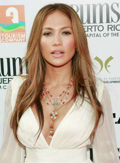 Jennifer Lopez arrives at the premiere of