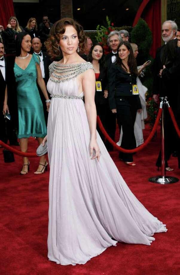Jennifer Lopez arrives at the 79th Academy Awards Sunday, Feb. 25, 2007, in Los Angeles. Photo: Kevork Djansezian, AP / AP
