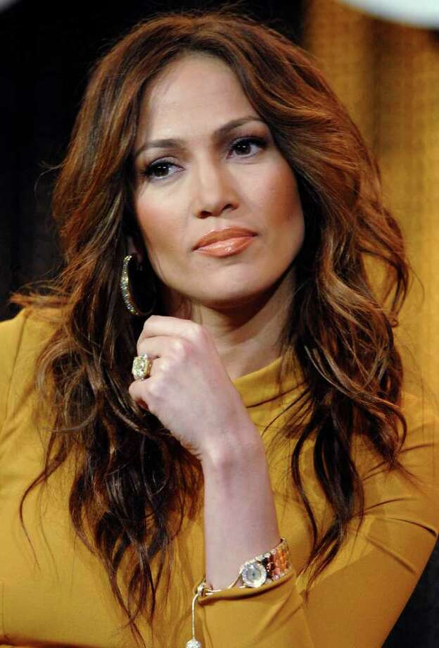 "Jennifer Lopez, executive producer of ""DanceLife,"" answers questions during MTV's panel for the reality series at Cable's January 2007 Press Tour, Thursday, Jan. 11, 2007, in Pasadena, Calif. Photo: Phil McCarten, AP / AP"