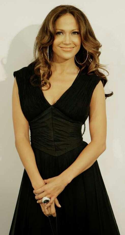 Jennifer Lopez arrives for the Latin Grammy Awards in New York, on Thursday, Nov. 2, 2006. Photo: STUART RAMSON, AP / AP