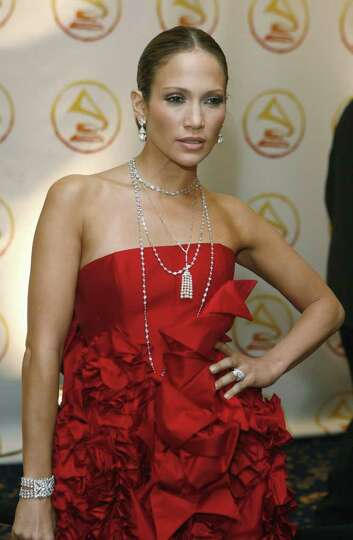 Jennifer Lopez arrives at the 2006 Latin Recording Academy