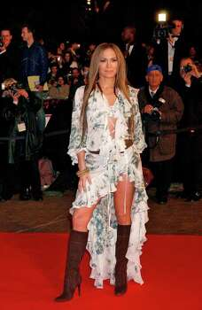 juliecooper KRT STAND ALONE ENTERTAINMENT PHOTO SLUGGED: NRJMUSICAWARDS KRT PHOTOGRAPH BY KLEIN-NEBINGER/ABACA PRESS (January 24) Jennifer Lopez arrives at the 6th edition of the NRJ Music Awards at the Palais des Festival in Cannes, France, on January 22, 2005. (cdm) 2005 Photo: KLEIN-NEBINGER, KRT / ABACA