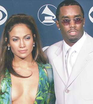 P.Diddy and Jennifer Lopez Photo: Agencia Reforma