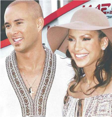 Cris Judd and Jennifer Lopez Photo: Agencia Reforma