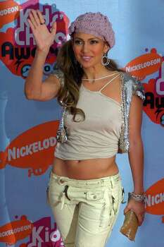 Jennifer Lopez arrives at Nickelodeon's 17th annual Kids' Choice Awards, Saturday night, April 3, 2004, in Los Angeles. Photo: MARK J. TERRILL, AP / AP