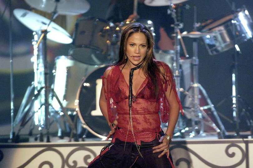 ADVANCE FOR WEEKEND EDITIONS, FEB. 7-10--FILE--Jennifer Lopez performs on the German television vari