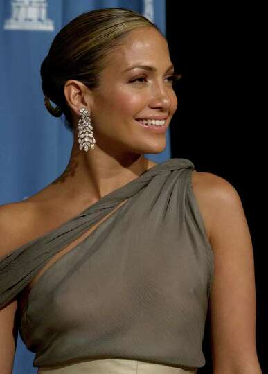 FILE--Jennifer Lopez is shown in this March 25, 2001 file photo, in Los Angeles. Lopez will perform