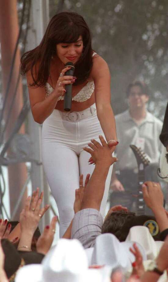 "S.A. hosts big stars. The movie ""Selena,"" starring Jennifer Lopez, was filmed in many Texas locations, including San Antonio. Photo: DOUG SEHRES, SAN ANTONIO EXPRESS-NEWS"