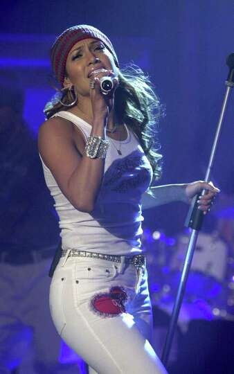 American singer Jennifer Lopez performs Saturday Dec. 9, 2000 during the TV show