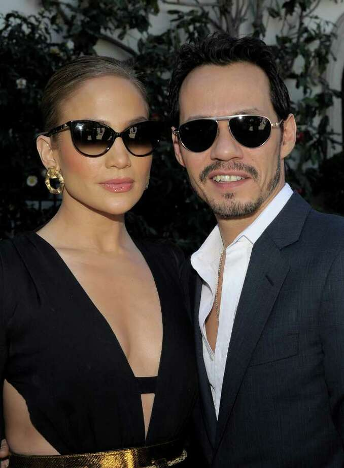 LOS ANGELES, CA - FEBRUARY 11:  Singers Jennifer Lopez (L) and Marc Anthony attend the first annual UNICEF Women Of Compassion Luncheon held at a private residence on February 11, 2011 in Los Angeles, California.  (Photo by Charley Gallay/Getty Images for UNICEF) *** Local Caption *** Marc Anthony;Jennifer Lopez Photo: Charley Gallay, Getty Images For UNICEF / 2011 Getty Images