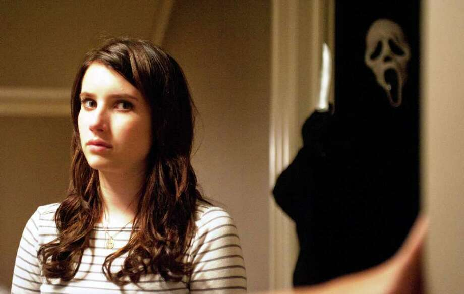 "Emma Roberts in ""Scream 4"""