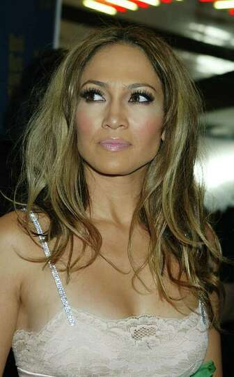 LAS VEGAS, NEVADA : SEPTEMBER 15:  Singer/actress Jennifer Lopez arrives at the 2004 World Music Awa