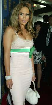 LAS VEGAS, NEVADA : SEPTEMBER 15:  Singer/actress Jennifer Lopez arrives at the 2004 World Music Awards at the Thomas & Mack Centre on September 15, 2004 in Las Vegas. Photo: Jo Hale, Getty Images / 2004 Getty Images