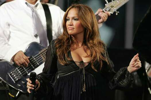 "NEW YORK - OCTOBER 09:  Singer Jennifer Lopez performs onstage at ABC's ""Good Morning America"" in Times Square on October 9, 2007 in New York City.  (Photo by Bryan Bedder/Getty Images) *** Local Caption *** Jennifer Lopez Photo: Bryan Bedder, Getty Images / 2007 Getty Images"