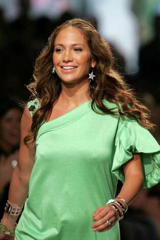 NEW YORK - SEPTEMBER 11:  Designer Jennifer Lopez  walks the runway after Jennifer Lopezthe Justsweet 2008 Fashion Show at Eye Beam during the Mercedes-Benz Fashion Week Spring 2008 on September 11, 2007 in New York City. Photo: Bryan Bedder, Getty Images / 2007 Getty Images