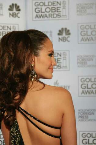 Beverly Hills, UNITED STATES:  US actress and singer Jennifer Lopez poses 15 January 2007 at the 64th Annual Golden Globe Awards in Beverly Hills.     AFP PHOTO/Gabriel BOUYS Photo: GABRIEL BOUYS, AFP/Getty Images / 2007 AFP