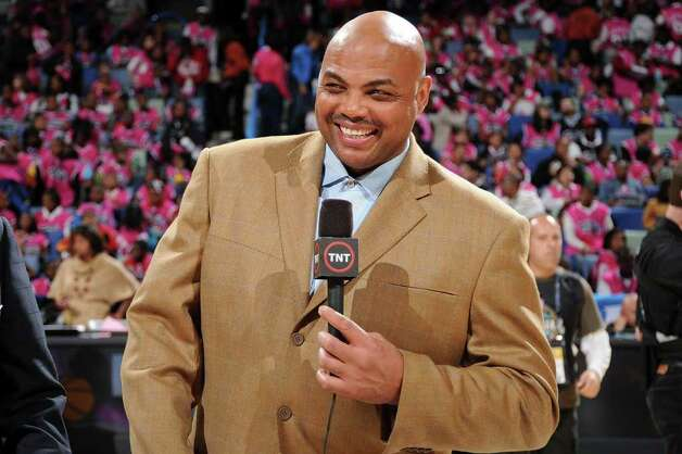 NEW ORLEANS - FEBRUARY 15:  Broadcaster Charles Barkley of TNT smiles prior to the start of the T-Mobile Rookie Challenge & Youth Jam part of 2008 NBA All-Star Weekend at the New Orleans Arena on February 15, 2008 in New Orleans, Louisiana.  NOTE TO USER: User expressly acknowledges and agrees that, by downloading and or using this photograph, User is consenting to the terms and conditions of the Getty Images License Agreement. Mandatory Copyright Notice: Copyright 2008 NBAE Photo: Andrew D. Bernstein, NBAE/Getty Images / 2008 NBAE