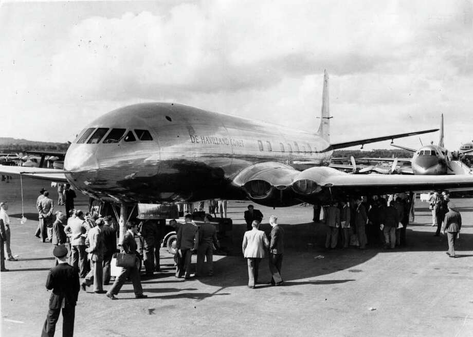 Britain's de Havilland rolled out its Comet prototype in 1949 and got the world's first jet airliner into service in 1952, six years before Boeing's 707. Photo: Douglas Miller, Getty Images / Hulton Archive
