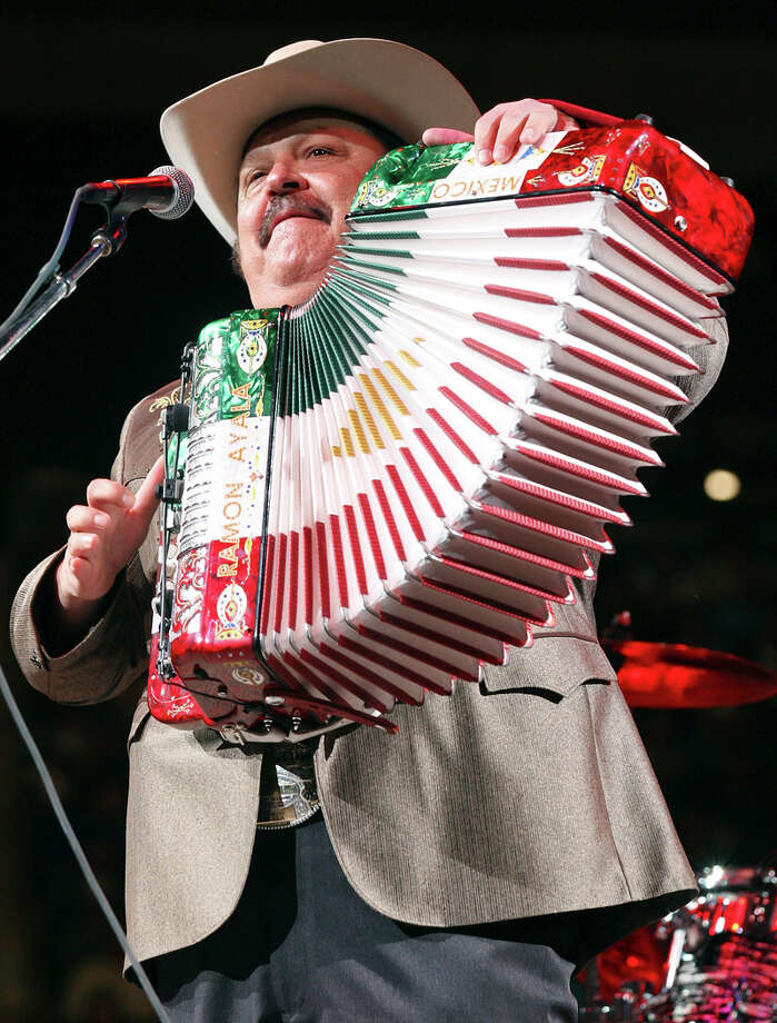 Ramon Ayala headlines the Tejano Explosion on Friday. EXPRESS-NEWS FILE PHOTO