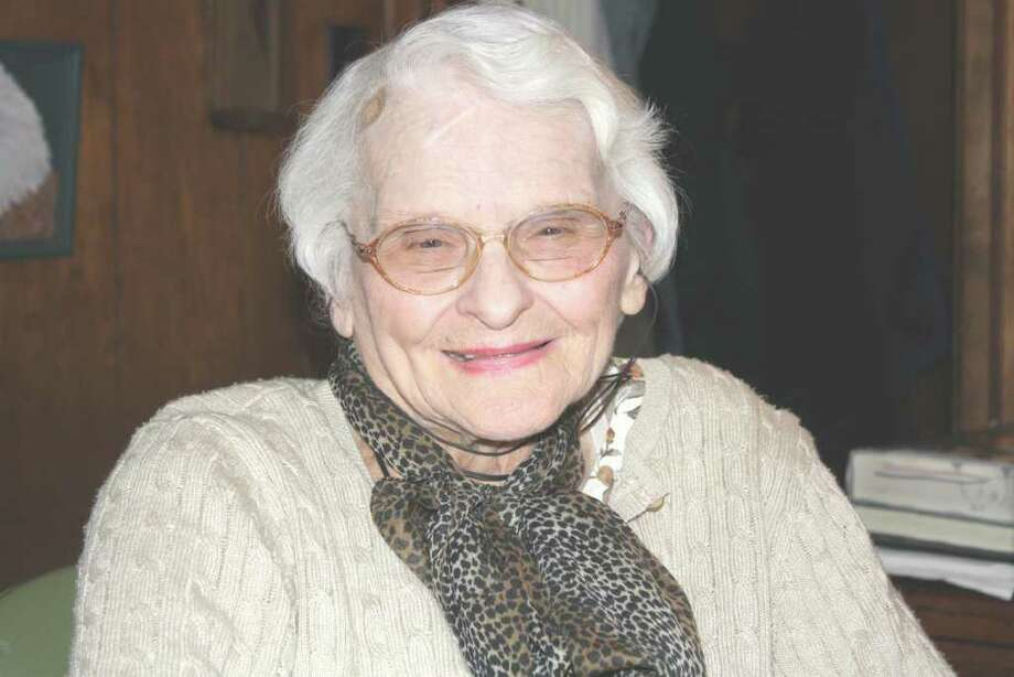 """Jean Sylvia Anderson recently published her first book """"Amos, the Lone Wolf of the Boston Post Road"""" which details the exploits of her father during his tenure as a Darien Police Officer. Photo: Contributed Photo / Darien News"""