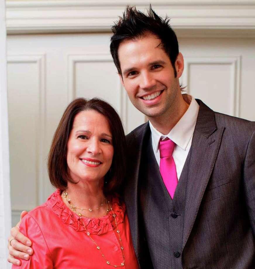 Patti Mertz and David Osmond Photo: Contributed Photo