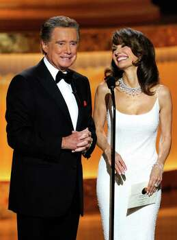 LAS VEGAS - JUNE 27:  Host Regis Philbin and actress Susan Lucci speak onstage at the 37th Annual Daytime Entertainment Emmy Awards held at the Las Vegas Hilton on June 27, 2010 in Las Vegas, Nevada.  (Photo by Ethan Miller/Getty Images) *** Local Caption *** Regis Philbin;Susan Lucci Photo: Ethan Miller, Getty Images / 2010 Getty Images