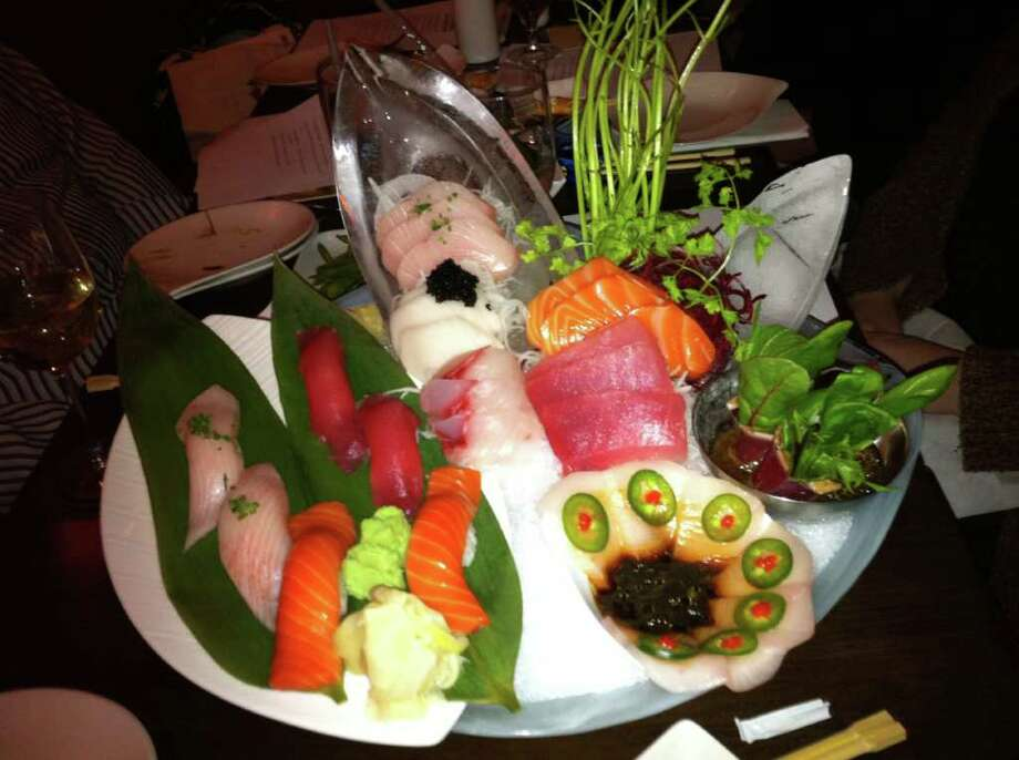 The Chef Special Omakase had a variety of sushi. Photo: Belinda Stasiukiewicz / Darien News