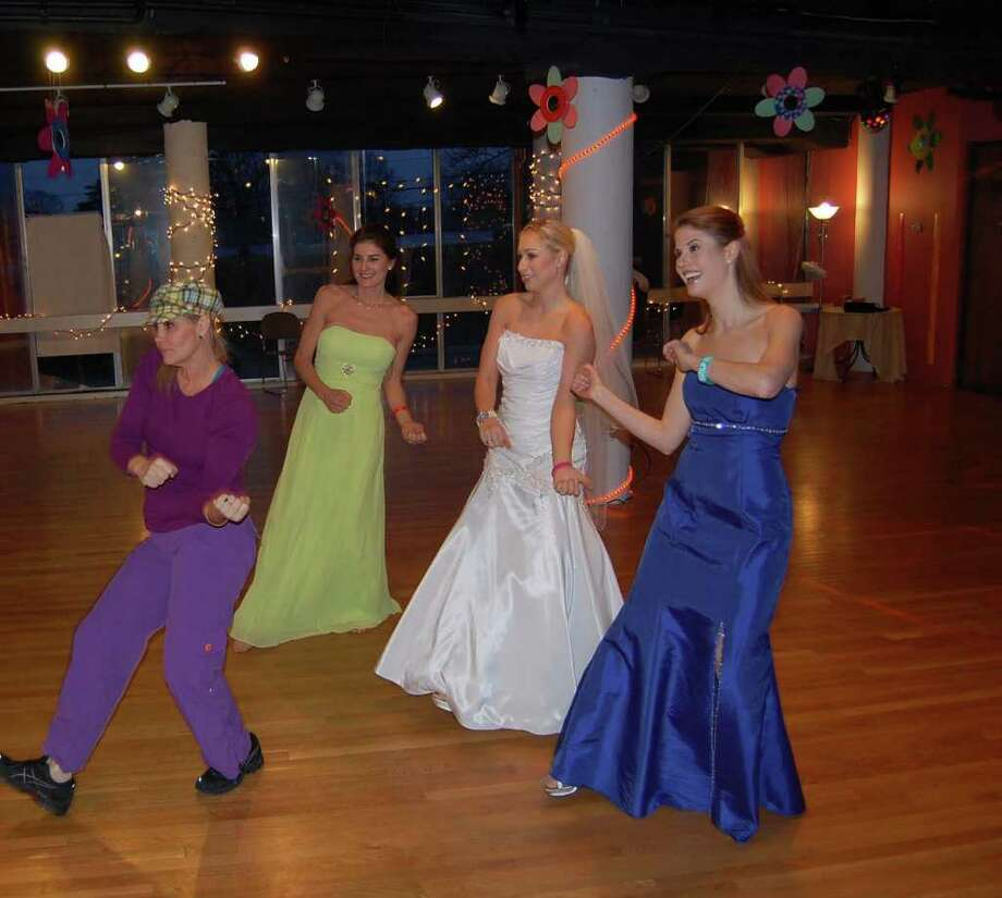 """Zumba for Brides"" is a new class offered at Zumba with Darah. Photo: Contributed Photo / Darien News"