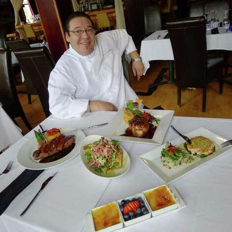Philippe Chin, the chef at 28 Tables in Saratoga Springs (Michael P. Farrell / Times Union) Photo: Michael P. Farrell / 00012709A