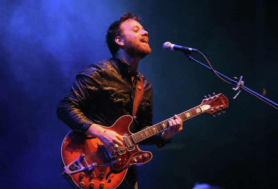Dan Auerbach of the Black Keys performs during 12th Coachella Valley Music and Arts Festival, Friday, April 15 2011, in Indio, Calif. Photo: AP