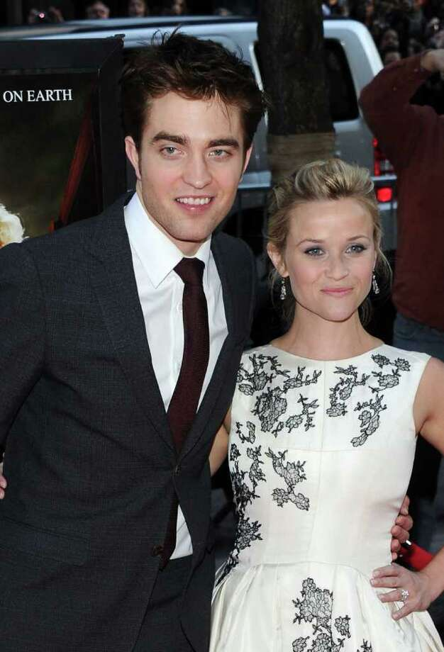 "Actors Robert Pattinson and Reese Witherspoon attend the ""Water For Elephants"" premiere at the Ziegfeld Theatre  in New York City.  Photo: Jason Kempin, Getty Images / 2011 Getty Images"