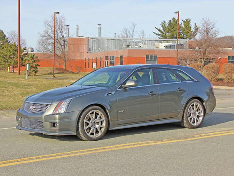 2011 Cadillac CTS-V Sport Wagon (photo by Dan Lyons) Photo: Dan Lyons / copyright: Dan Lyons 2011 - All rights reserved