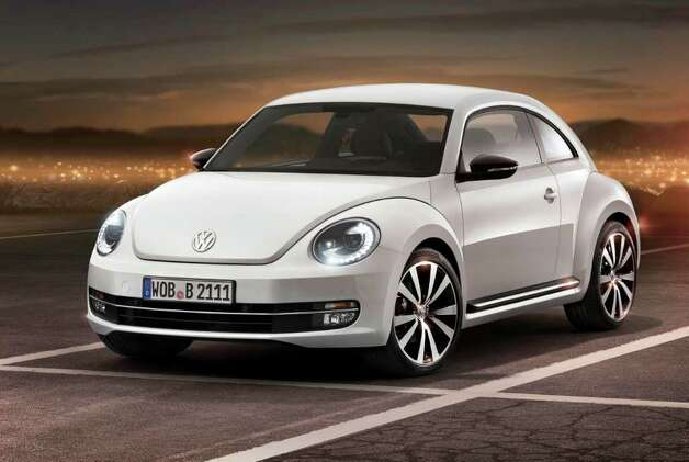 The new look redesigned VW Beetle. Photo: AP / Volkswagen of America Inc.