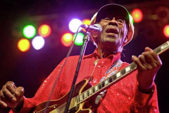Chuck Berry is among Rolling Stone's list of top 10 tax-challenged musicians.