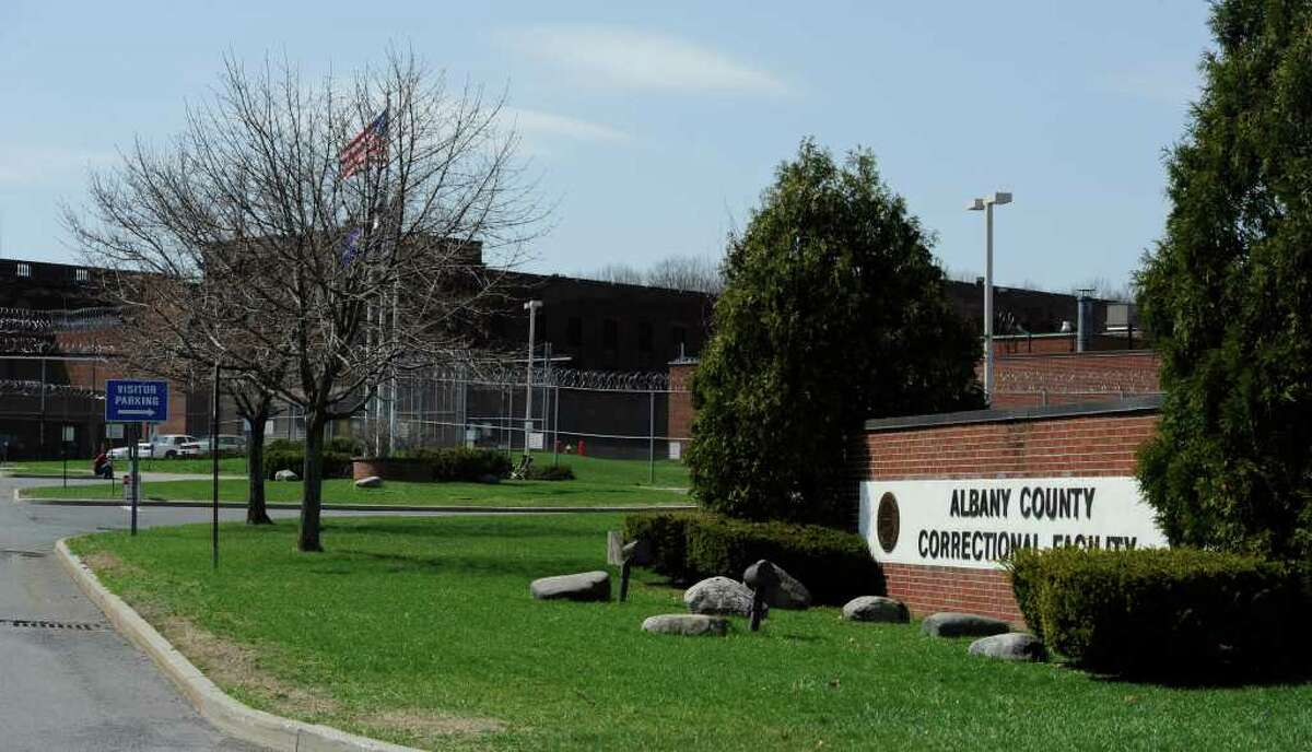 The Albany County Correctional Facility in Colonie, N.Y. (Skip Dickstein / Times Union)