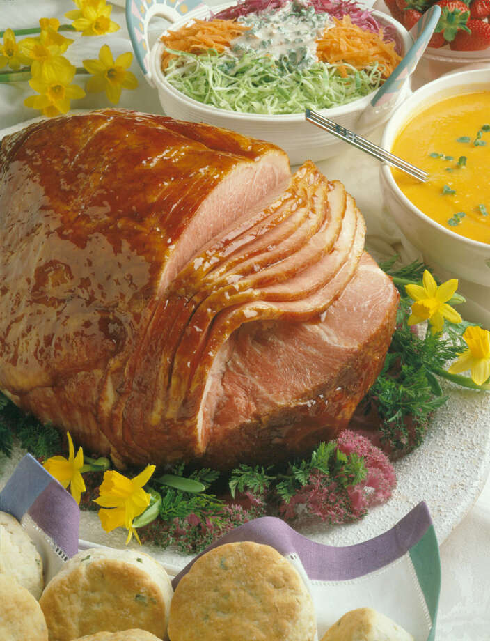 The spiral-sliced ham is a holiday favorite, but there are other options to choose from. COURTESY NATIONAL PORK BOARD