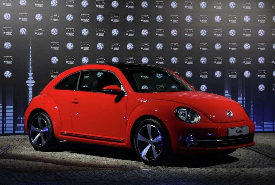 5. Volkswagen New BeetleReason:Ridiculously 'cute'Source:CarInsurance.com Photo: Andreas Rentz, Andreas Rentz / Getty Images / 2011 Getty Images