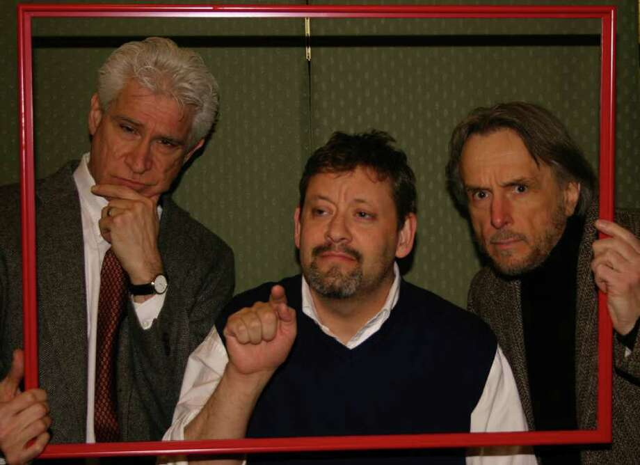 "Square One Theatre in Stratford is ending its 2010-2011 season with the hit comedy ""Art"" by Yasmina Reza. The three character show will feature (left to right) Pat Leo, Dan Arenovski and Alexander Kulsar. Performances will start May 13. Photo: Contributed Photo / Connecticut Post Contributed"