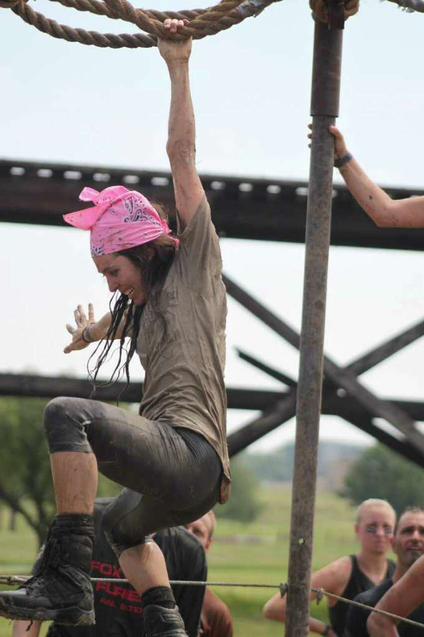 Participants in the Original Mud Run in Forth Worth earlier this month.