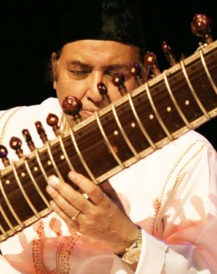Ustad Imrat Khan to play April 23 at Skidmore College (Imratkhan.com)